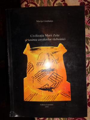 400 Civilizatia Marii Zeite Sosirea Cavalerilor Razboinici Marija Gimbutas Foto