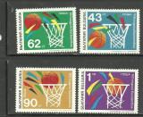 BULGARIA 1991 - SPORT. BASCHET, serie nestampilata, B8