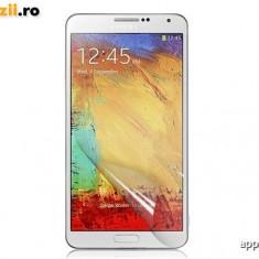 Folie Samsung Galaxy Note 3 N9000 Transparenta, Lucioasa