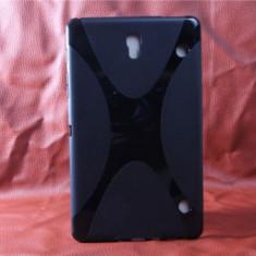 Husa Samsung Galaxy Tab S T700 T705C 8.4 TPU X-LINE Black - Husa Tableta
