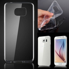 Husa Samsung Galaxy S6 Edge G925F TPU Ultra Thin 0.3mm Transparenta - Husa Telefon Samsung, Gel TPU, Fara snur, Carcasa