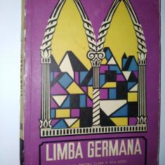 Manual Limba Germana pentru clasa a XII -a, anul IV licee de specialitate 1968 - Curs Limba Germana