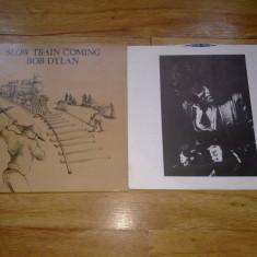 BOB DYLAN - SLOW TRAIN COMING (1979, CBS,  Made in UK) vinil vinyl