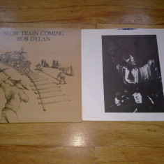 BOB DYLAN - SLOW TRAIN COMING (1979, CBS, Made in UK) vinil vinyl - Muzica Blues