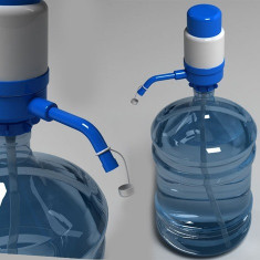 Pompa de apa manuala bidon mare sau mic 12-19L sau 20 L - Aparat Filtrare si Dozator Apa