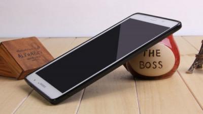 """Husa Samsung Galaxy Tab 4 T330 T331 8"""" TPU X-LINE Black foto"""