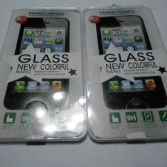 Folie Samsung Galaxy Note 2 n7100Sticla Temperata 1 fata clear, 9H, 2.5D, 0.30mm - Folie de protectie Belkin, Anti zgariere