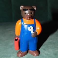 Jucarie figurina tata Urs personaj de ilustratoarea Daniele Bour, Beyard Press
