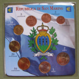 SAN MARINO - Euro Set 8 monede (date mixte) in Display Pack UNC, Europa