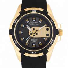 Ceas Barbatesc Q&Q Attractive DA54J102Y Luxury edition Gold, Lux - elegant, Quartz, Q&Q