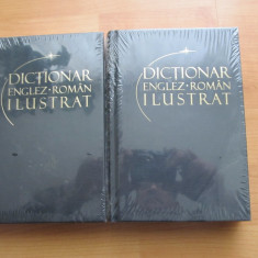 DICTIONAR ENGLEZ - ROMAN ILUSTRAT - 2 VOL. - Dictionar ilustrat