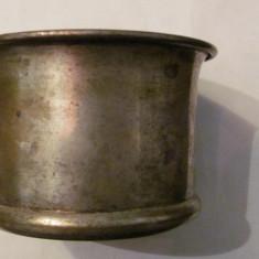 CY - Cana veche din alama argintata