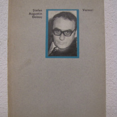 VERSURI, ED.1972, CU AUTOGRAF - STEFAN AUGUSTIN DOINAS - Carte de colectie