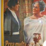 Vand afis original vintage  anii 50 la 99 ron