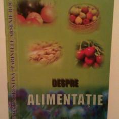 DESPRE ALIMENTATIE - IOAN VLADUCA - Carte Alimentatie