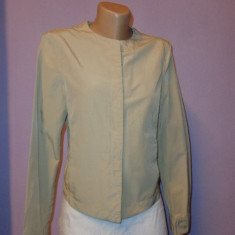 Geaca primavara Armani Jeans bej 100% originala - Jacheta dama Armani, Marime: S/M, Microfibra