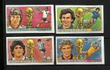 GUINEA 1986 FOTBAL CUPA MONDIALA- NEDANTELATE COTA MICHEL 20 EURO
