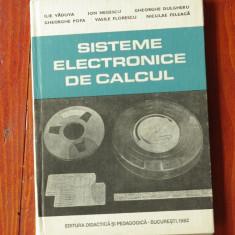 carte --- Sisteme electrice de calcul - 1982 - 180 pagini !!