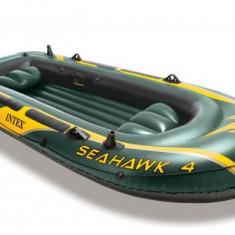 Barca gonflabila Seahawk IV, 4 persoane, Intex - Barca Pescuit