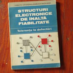 Structuri electronice de inalta fiabilitate - toleranta la defectari - 1989 !!