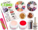 Kit Unghii False cu Gel UV - Nail-Art special de sezon + CADOU, Fraulein38