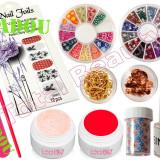 Kit Unghii False cu Gel UV - Nail-Art special de sezon + CADOU