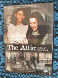 THE ATTIC: Hiding of ANNE FRANK - DVD film NAZISTI -original din Anglia, CA NOU!, Engleza