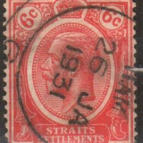 Anglia / Colonii, STRAITS SETTLEMENTS, stampilat