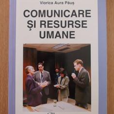 COMUNICARE SI RESURSE UMANE- VIORICA AURA PAUS - Carte dezvoltare personala