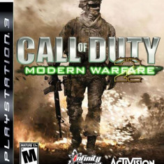 PS3 joc Call Of Duty MODERN WARFARE 2 original Play station 3 - Jocuri PS3 Sony, Shooting, 18+, Single player