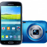 Samsung S5 K Zoom 10 procesoare 21 Mpix real camera cu obiectiv semipro si bliz - Telefon mobil Samsung Galaxy S5, Albastru, 64GB, Neblocat, Single SIM