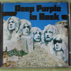 DEEP PURPLE - In Rock - C D Original - Muzica Rock emi records