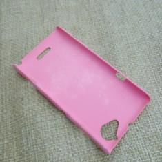 Husa Sony Xperia L Roz Hard Case - Husa Telefon Sony, Plastic, Carcasa