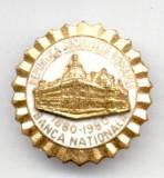 INSIGNA  BANCA NATIONALA A ROMANIEI 1880-1980