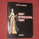 Leonard Mehedinti - Drept international privat - Carte Drept international