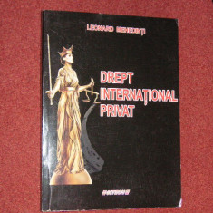 Leonard Mehedinti - Drept international privat - Carte Drept international