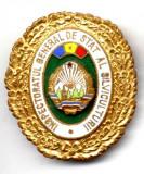 INSIGNA INSPECTORATUL GENERAL DE STAT AL SILVICULTURII 43,55/38,30 SILVICULTURA