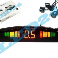 SENZORI DE PARCARE CU DISPLAY LCD PE LED SI SUNET, INDICATOR DISTANTA, SunTop