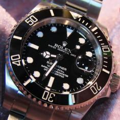 Rolex Submariner Date Black Dial Automatic (Cadran negru) - Ceas barbatesc Rolex, Mecanic-Automatic, Otel, Inox