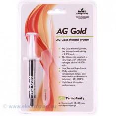 PASTA TERMOCONDUCTOARE GOLD 3G AG - Consumabile Service
