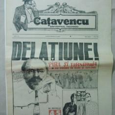 ZIAR CATAVENCU - SAPTAMANAL INCOMOD { NUMARUL 29 ANUL I - 1990 }