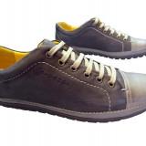 Pantofi barbati piele naturala Gitanos-528 m, Marime: 40, Culoare: Maro