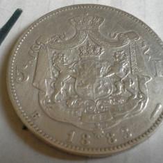 5 LEI 1883 /1 - Moneda Romania