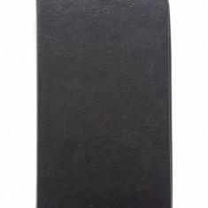 Husa flip toc neagra Samsung Galaxy S5 + folie ecran cadou