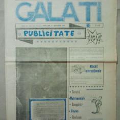 ZIAR - EDITORIAL PENTRU ANUNTURI GRATUITE GALATI { NUMARUL 3 ANUL I - 1990 }