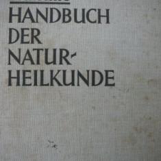 Handbuch der Natur Heilkunde(Medicina naturista) -Alfred Brauchle, 1933