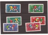 Bulgaria 1970 serie stampilata campionat mondial Mexico 1970, Stampilat