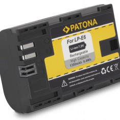PATONA | Acumulator compatibil Canon LP-E6 LPE6 LP E6 | 1300mAh - Baterie Aparat foto PATONA, Dedicat