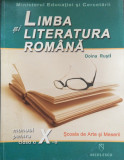 LIMBA SI LITERATURA ROMANA MANUAL PENTRU CLASA A X-A - Doina Rusti, Clasa 10, Limba Romana, Niculescu