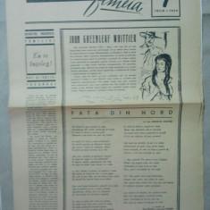 ZIAR - SUPLIMENT FEMEIA { NUMARUL 7 ANUL 1959 }